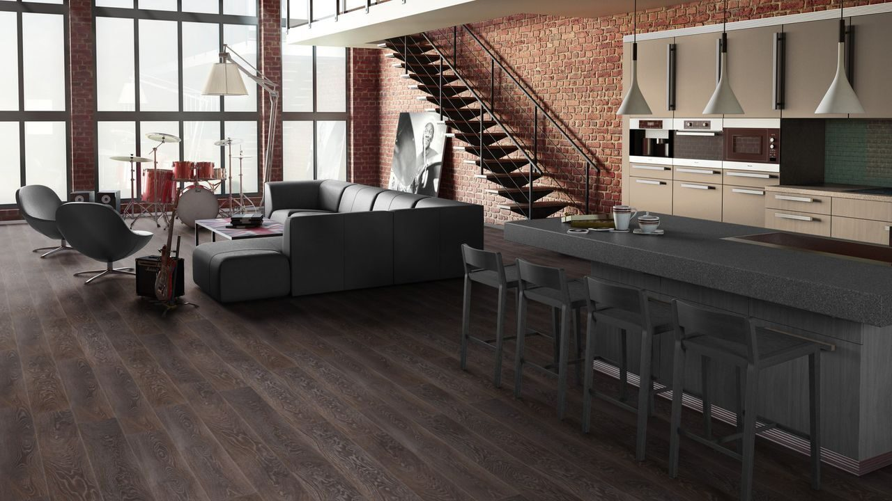 Ламинат Tarkett ESTETICA OAK SELECT DARK BROWN